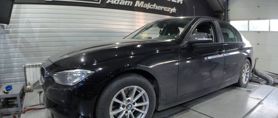 BMW F30 320D  +36KM i +73Nm
