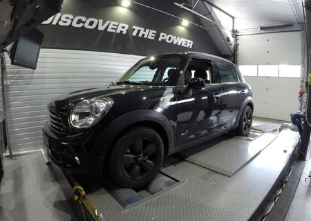 Mini Countryman 4x4 1.6d 112 KM +28 KM oraz 65 Nm