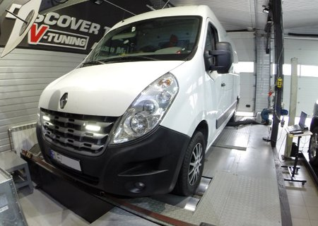 Chip Tuning Renault Master III 2.3 dCi 125 KM + 27 KM i 72 Nm