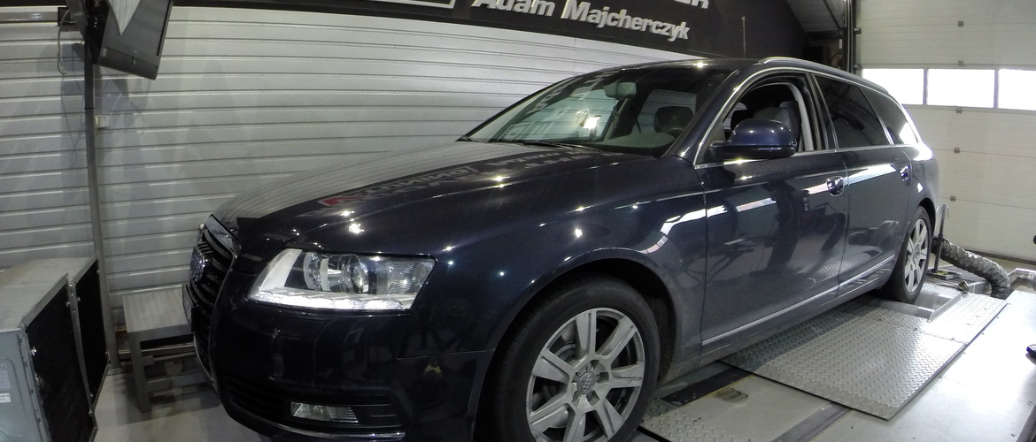 Chip Tuning Audi A6 C6 3.0 TDI 240KM + 49 KM i + 109 Nm