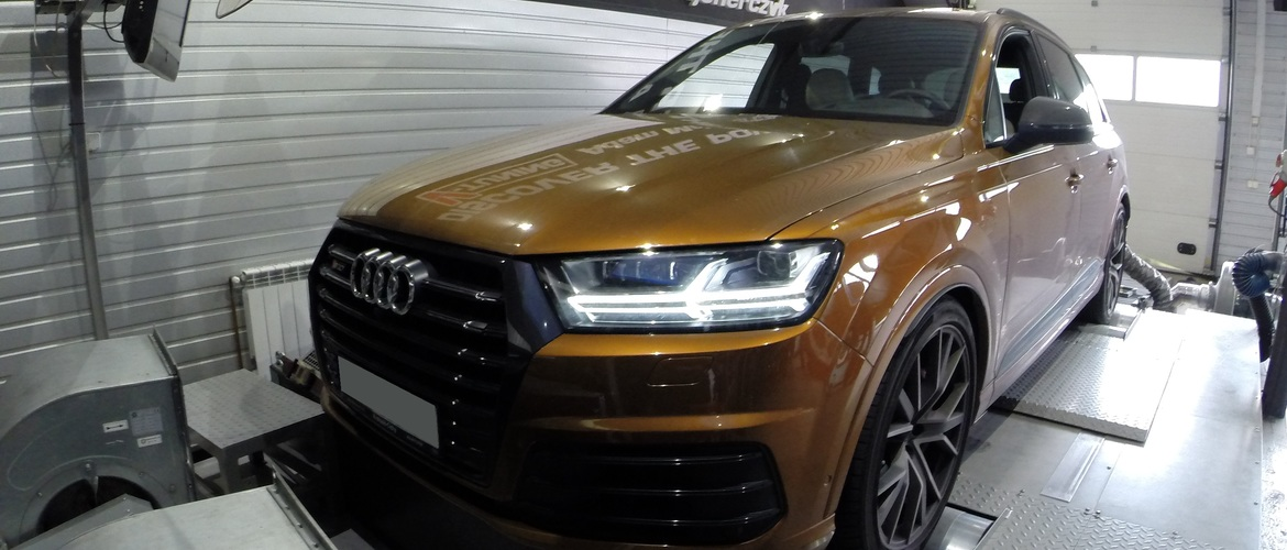 Power Deck Audi SQ7 4.0 TDI 435 KM + 40 KM i + 57 Nm