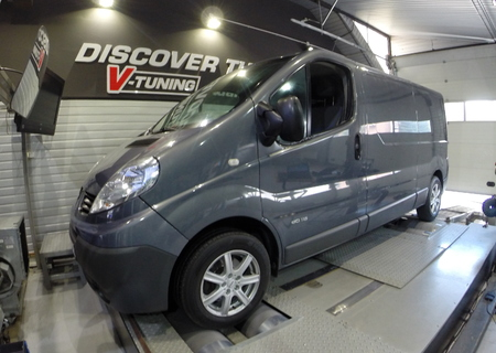 Chip Tuning Renault Trafic 2.0 dCi 115 KM + 23 KM i + 54 Nm