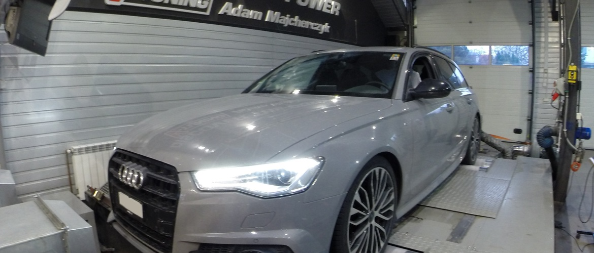 Chip Tuning AUDI A6 C7 3.0 TDI Competition 326 KM + 46 KM + 66 Nm