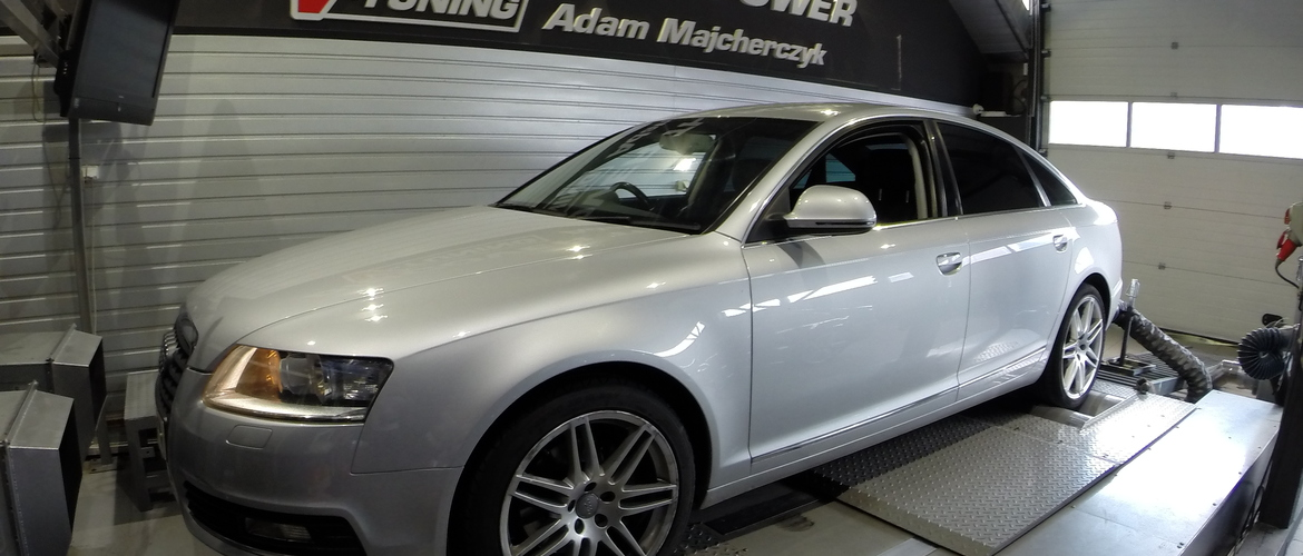 Chip Tuning Audi A6 C6 2.0 TDI 170 KM + 33 KM   + 53 Nm