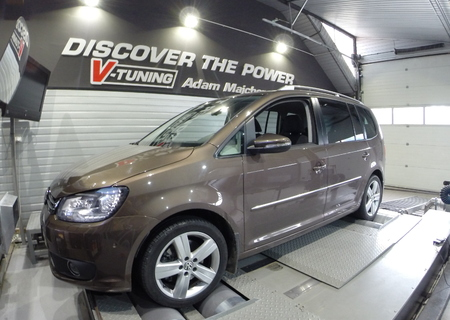 Chip Tuning Volkswagen Touran 2.0 TDI CR 170 KM  + 24 KM   + 34 Nm