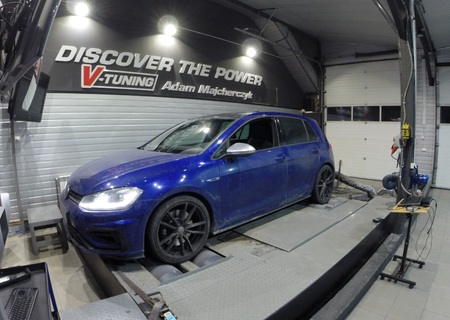 Chip Tuning Volkswagen Golf 7.5R 2.0 TSI 310 KM + 52 KM + 72 Nm