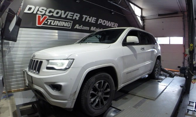 Chip Tuning Jeep Grand Cherokee 3.0 CRD 241 KM + 31 KM + 67 Nm
