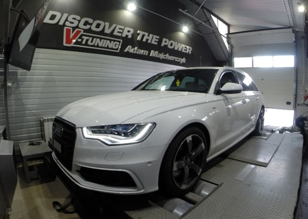 Chip Tuning Audi A6 C7 3.0 BiTDI 313 KM + 91 KM + 143 Nm
