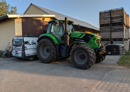 Chip Tuning Deutz - Fahr Agrotron 6155  + 35 KM + 133 Nm
