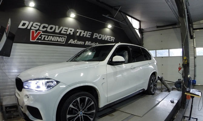 Chip Tuning BMW X5 F15 30d 258 KM + 40 KM + 50 Nm