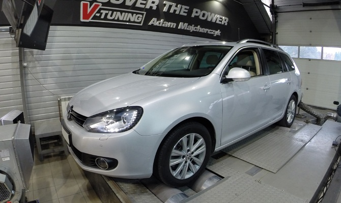 Chip Tuning Volkswagen Golf VI 2.0 TDI 140 KM + 29KM + 74NM