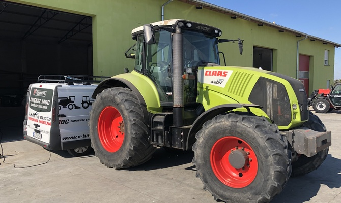 Chip Tuning Claas Axion 810 + 53 KM + 149 Nm
