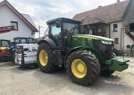 Chip Tuning John Deere 7200R + 35 KM + 114 Nm