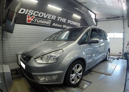 Chip Tuning Ford Galaxy 2.0TDCi 140KM | V-Tuning Leżajsk