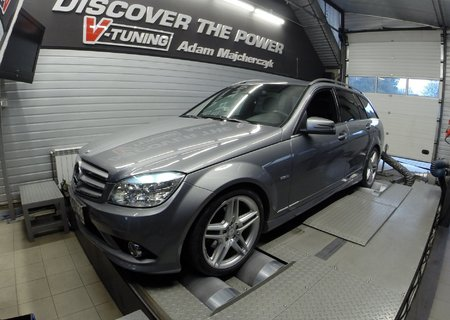 Chip Tuning Mercedes W204 C200 kompresor - Stage 2 | V-Tuning Leżajsk