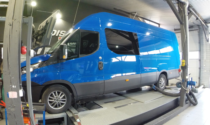 Power Deck Iveco Daily VI 3.0 D 177 KM + 22 KM i + 63 Nm